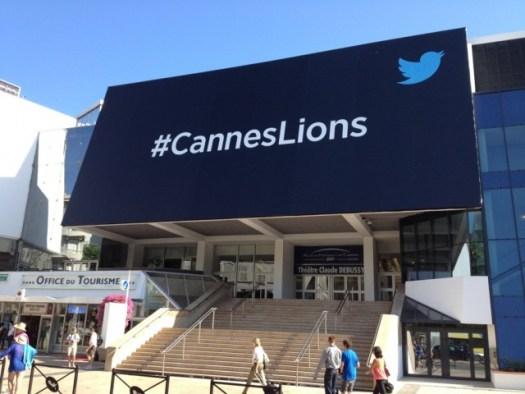 twitter billboard cannes