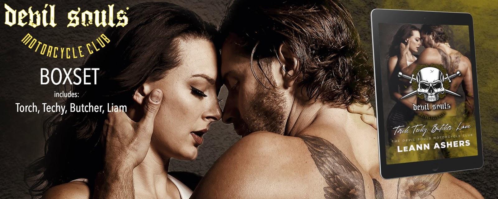 Alyssa Leblanc Nude leann ashers ~ the devil souls mc: box set ~ release blitz