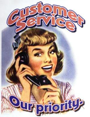 Behind the Customer Service Counter