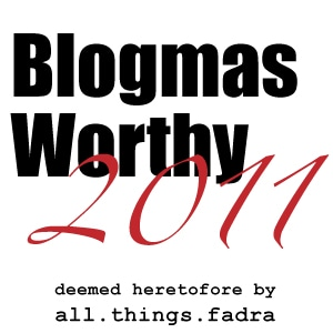 2011 Top Blogmas Posts to Make You Feel