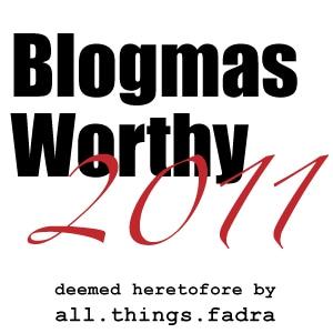 blogmas-2011