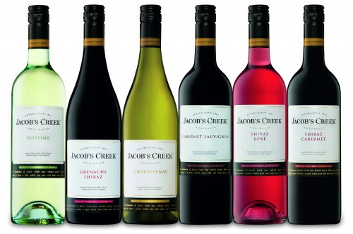 Jacob's Creek wines