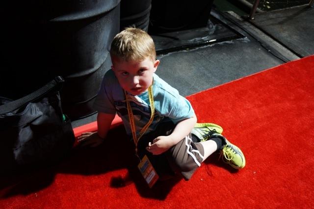 Evan at Disney