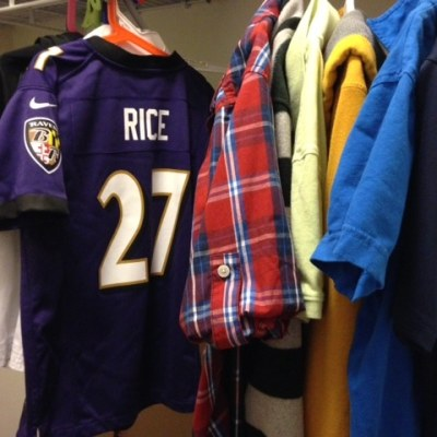 What to do about that Ray Rice football jersey