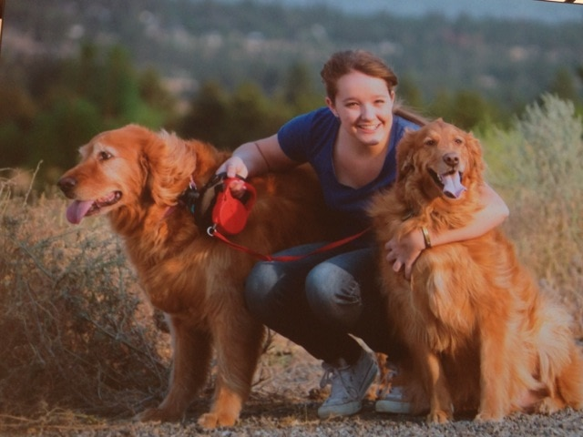 Brooke Martin and dogs