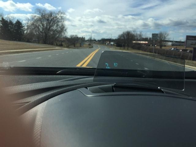 Mazda3 dash screen