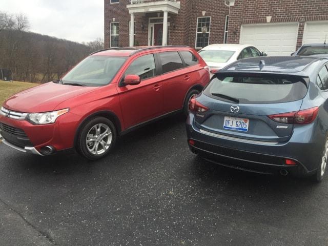 Mazda vs. Mitsubishi