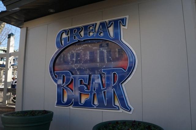 Great Bear coaster