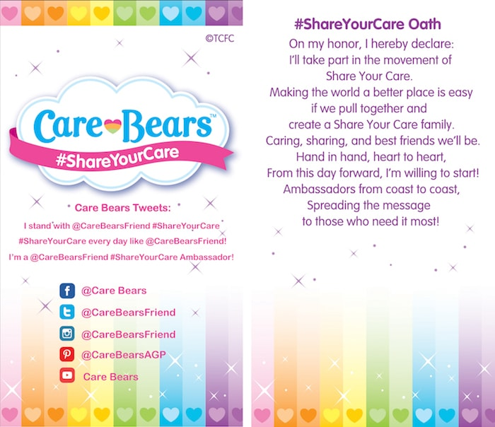 Care Bears Oath
