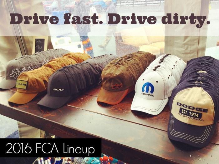 2016 FCA Lineup