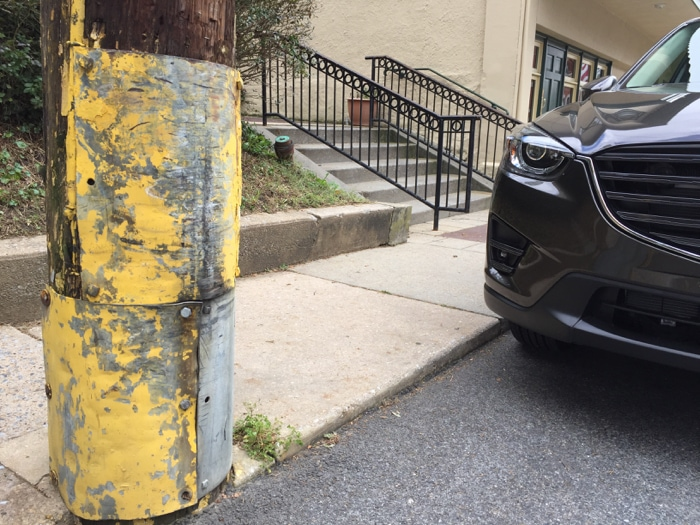 Mazda CX-5 parked on the street