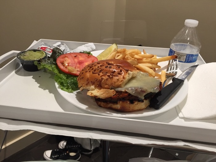 Lunch during CoolSculpting