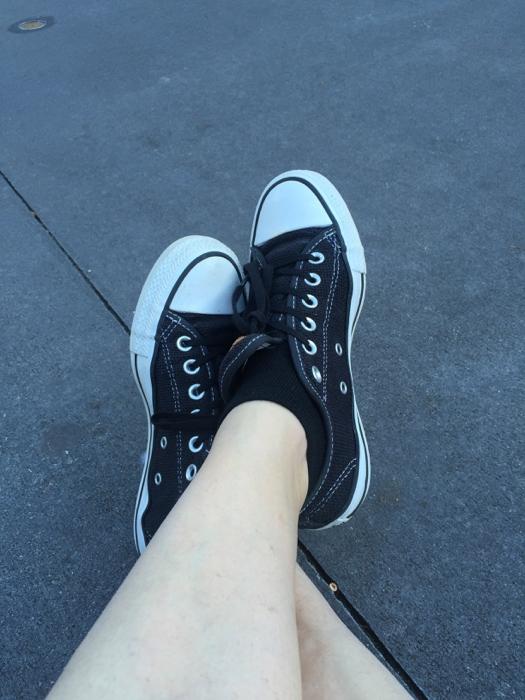 Converse shoes at Disney