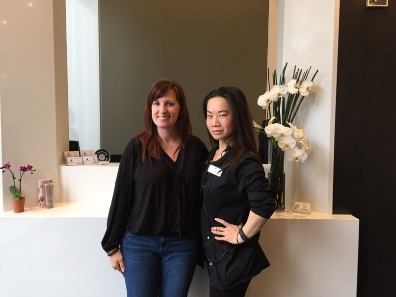Fadra and Le-Nhu at Capital Laser & Skin Center