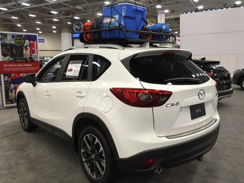 Mazda CX-5 at the DFW Auto Show