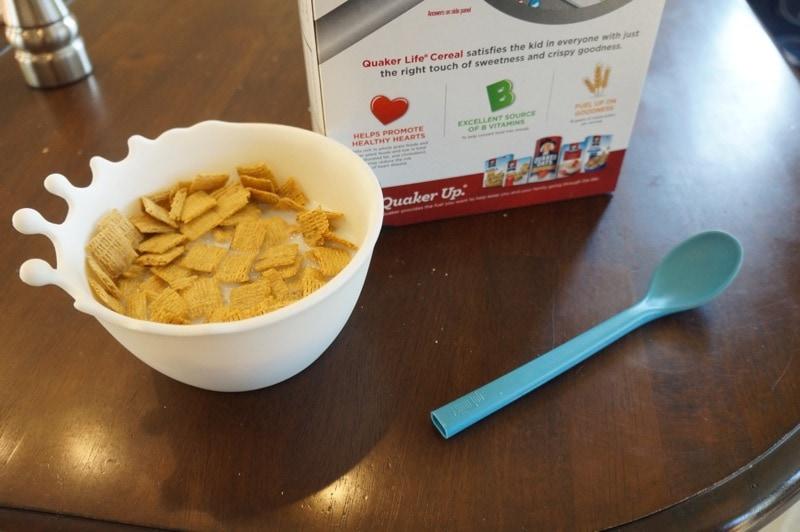 Quick breakfast before school