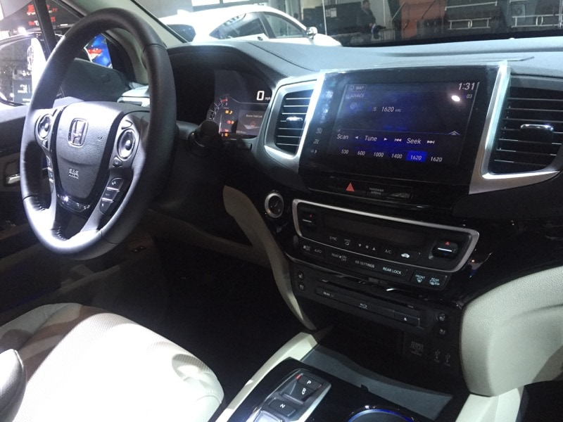 Honda Pilot - interior