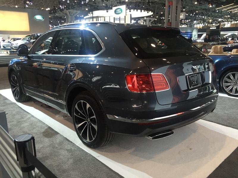 Bentley Bentayga - NYIAS