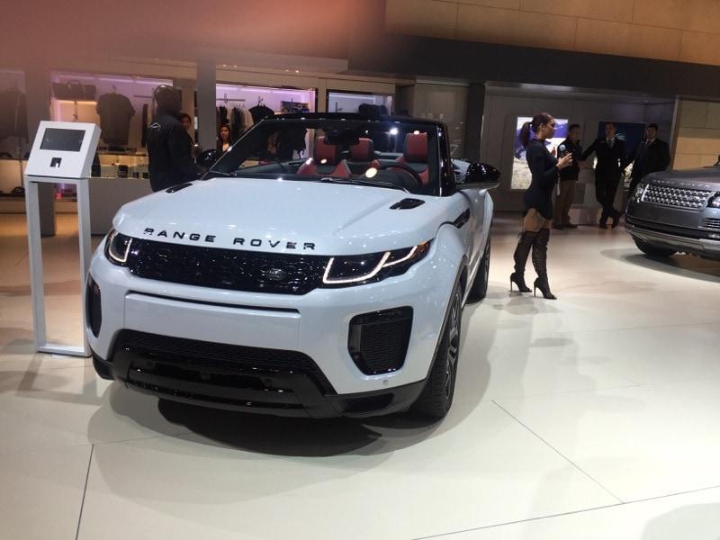 Range Rover convertible - NYIAS