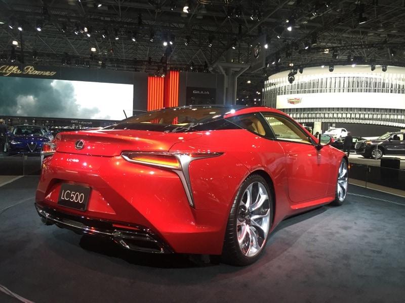 Lexus LC500 - NYIAS
