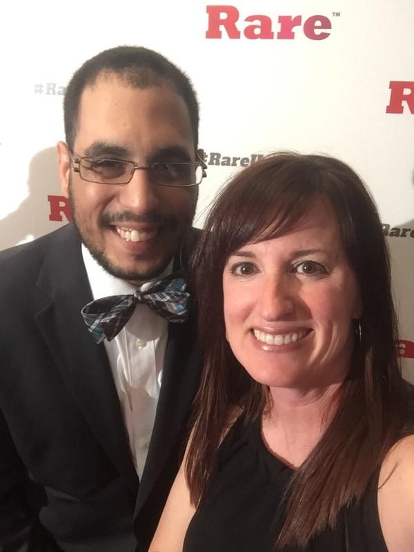 Fadra Nally and Mohammed Shaker - Rare Under 40 Awards