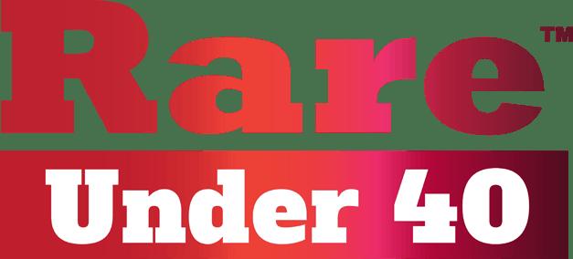 Rare Under 40 logo