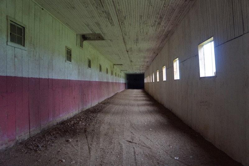Historic horse barn, Sagamore Farm