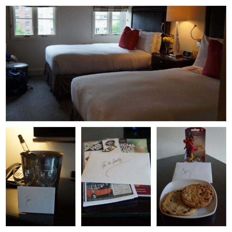 Hotel room - Normandy Hotel DC