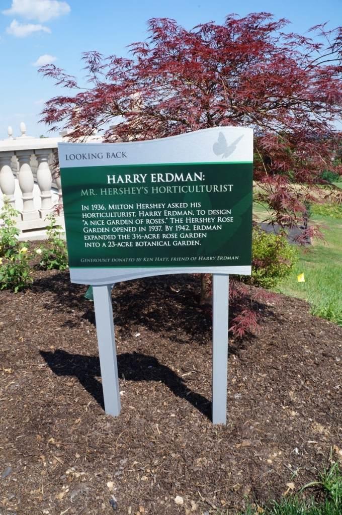 Henry Erdman, Hershey horticulturalist