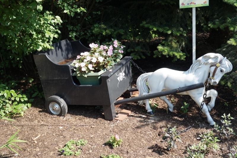 Hersheypark ride horse