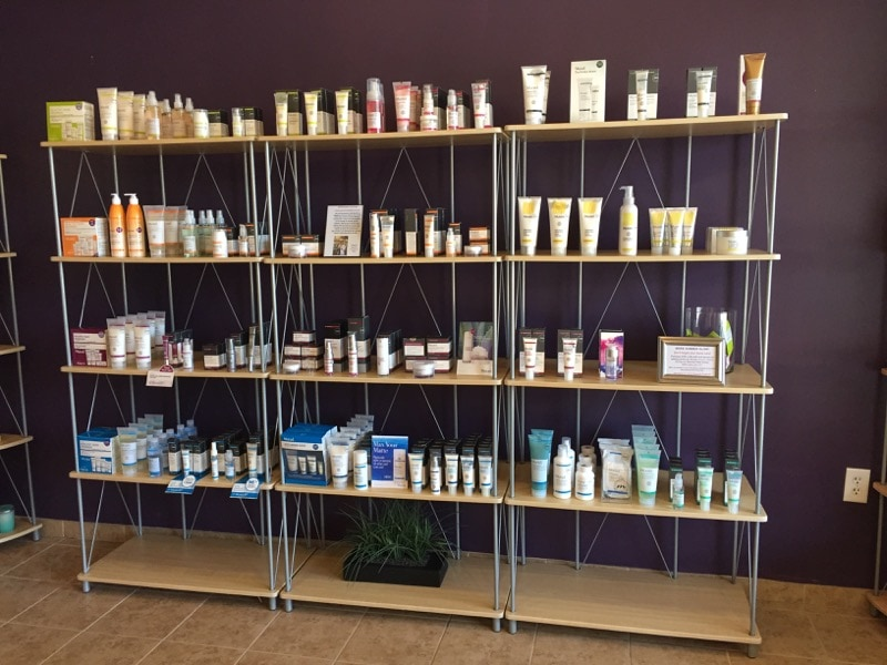 Murad skincare products available at Massage Envy in Clarksville, Maryland