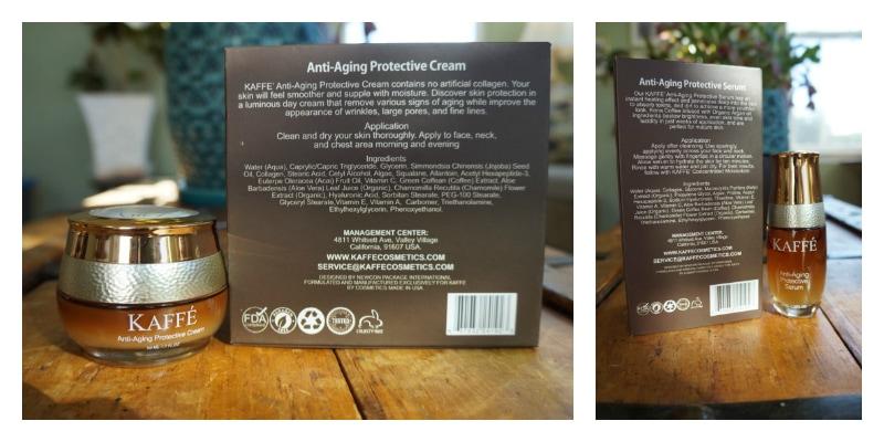 Kaffe Cosmetics ingedients