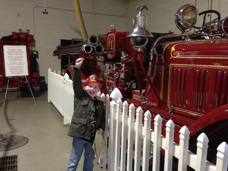 Evan at Ellicott City VFD