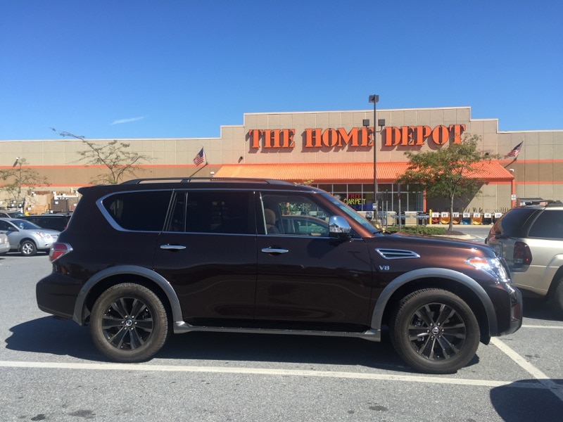 An exciting ride to the Home Depot