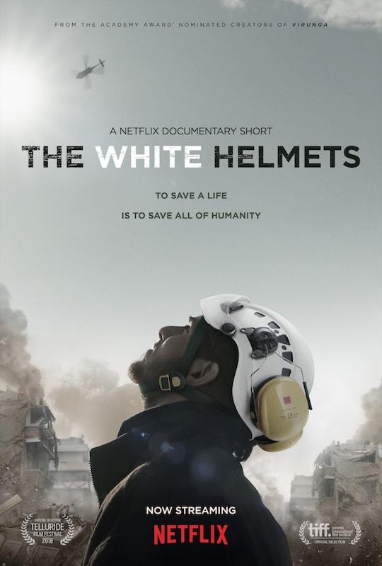 The White Helmets documentary on Netflix