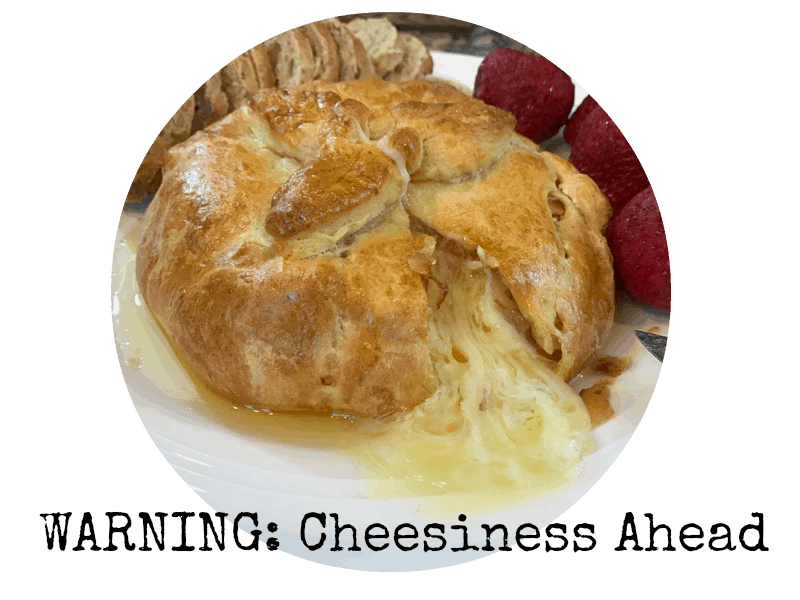 make it your own baked brie with crescent rolls all things fadra