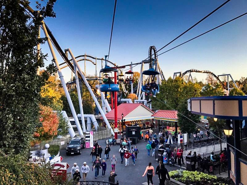 Skyview ride at Hersheypark