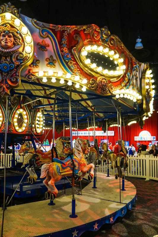 Christmas Carousel - Christmas Village