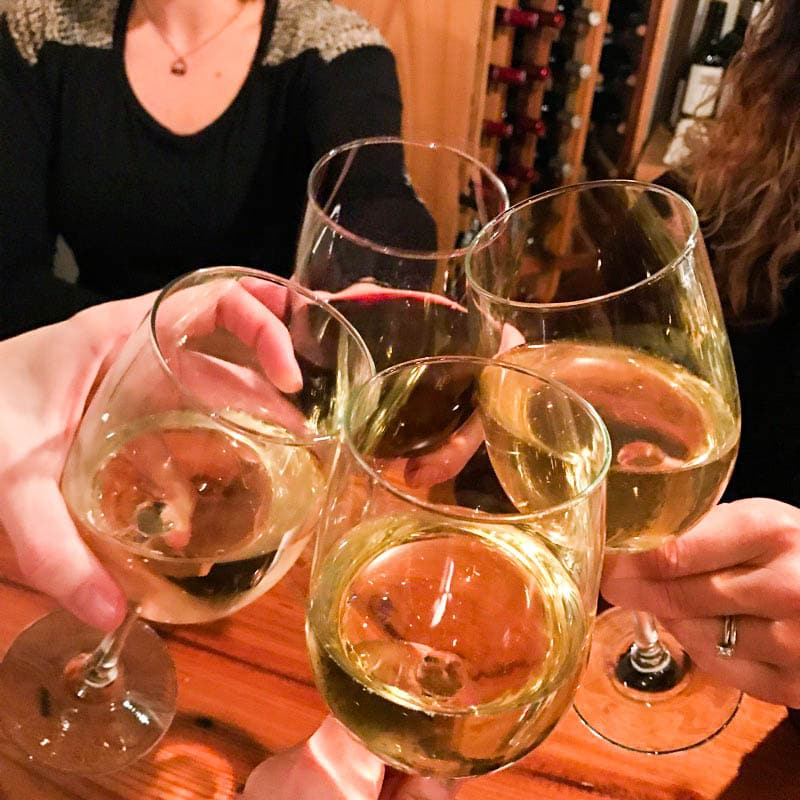 Cheers to a girls weekend