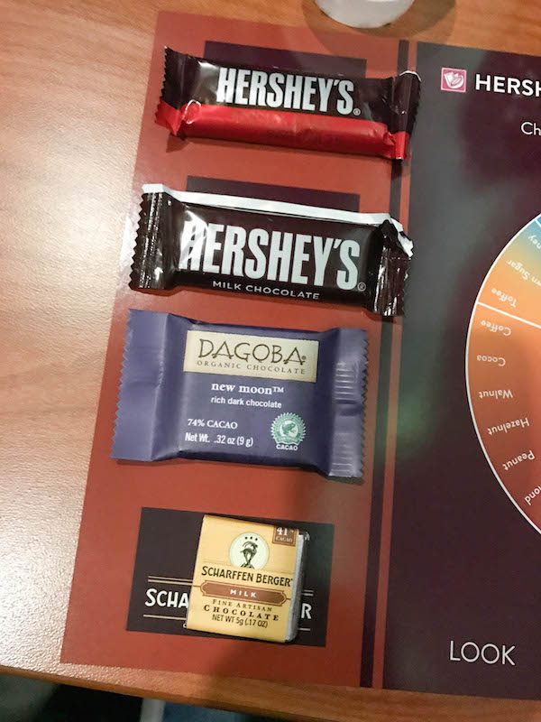Chocolate Tasting Samples