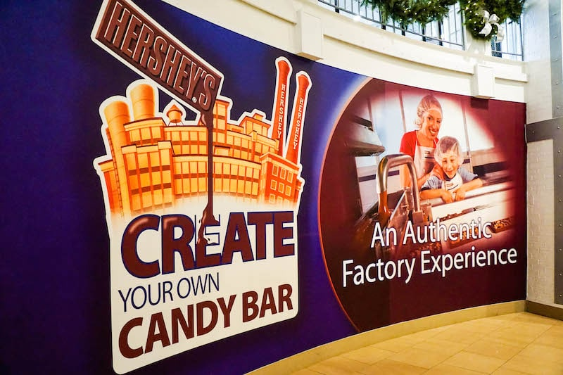 Create Your Own Candy Bar Factory Experience