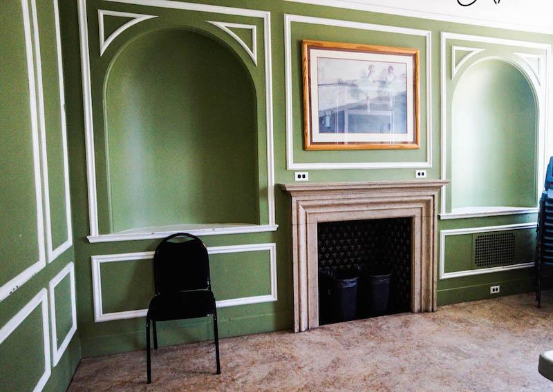 Hershey Theatre green room