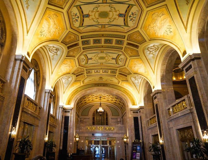Hershey Theatre lobby