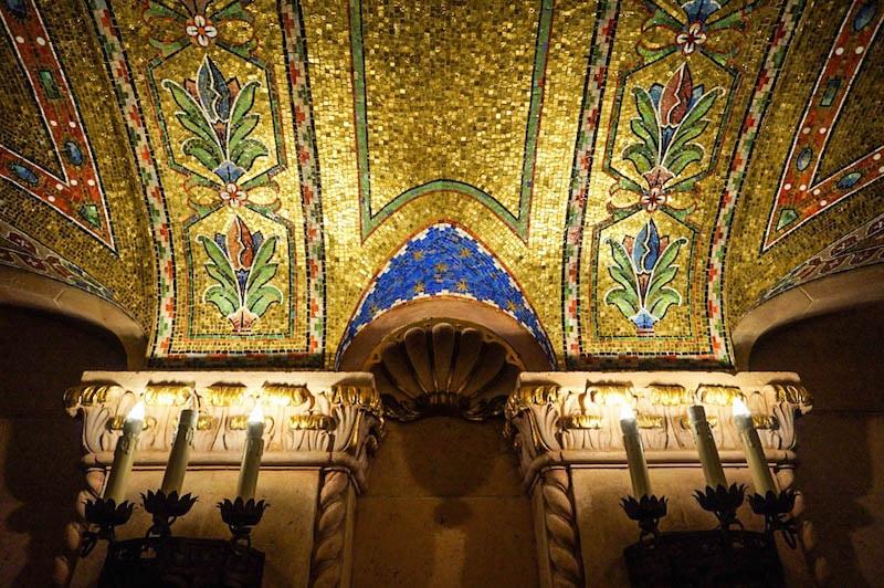 Hershey Theatre mosaic