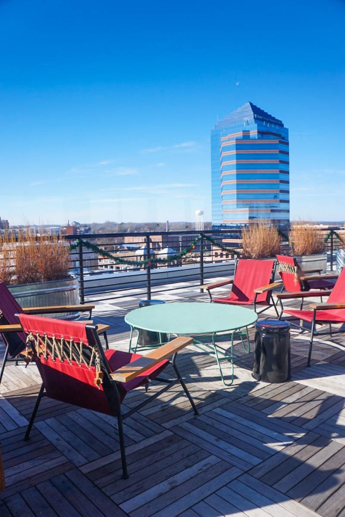 Rooftop bar - Durham Hotel