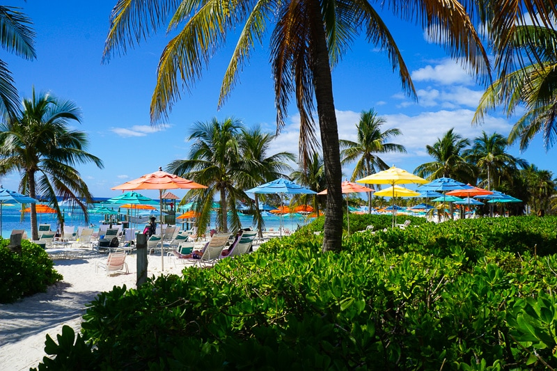 Beachside at Castaway Cay