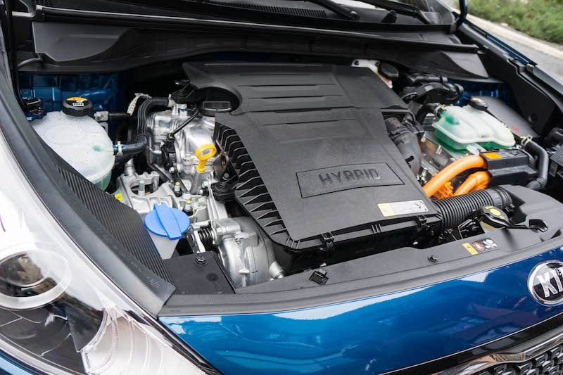 Kia Niro Hybrid engine