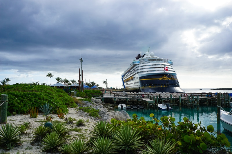 Setting sail from Castaway Cay