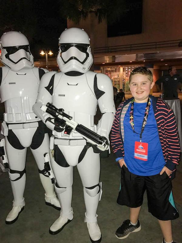 Stormtrooper at Hollywood Studios