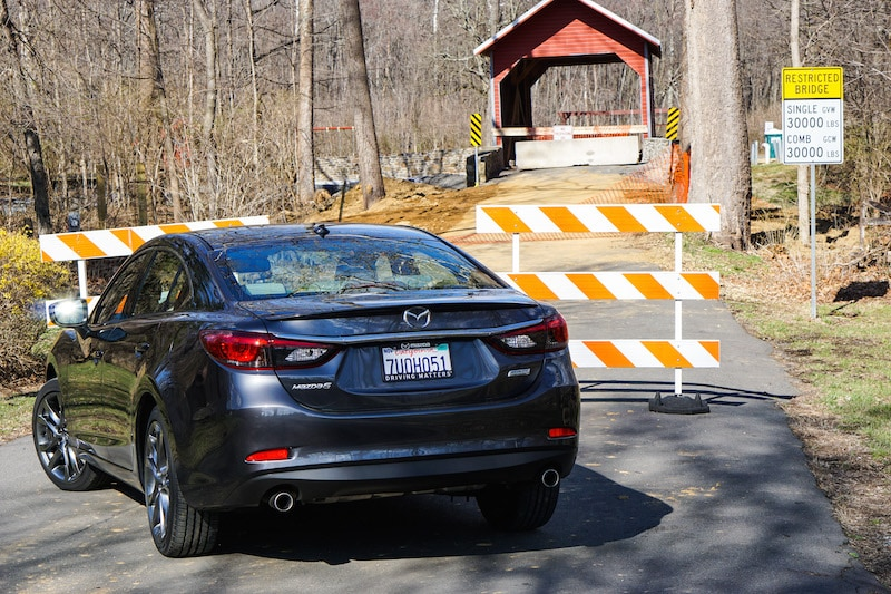 Roddy Road Covered Bridge - Mazda6
